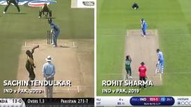 World Cup : रोहितच्या 'त्या' सिक्सरवर सचिनचं मुंबई कनेक्शन म्हणाला...