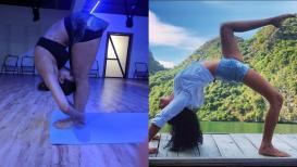 International Yoga Day योग करून या 5 अभिनेत्री ठेवतात स्वतःला फिट आणि सेक्सी