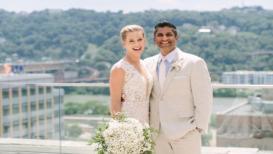 VIDEO : प्रसिद्ध अमेरिकी टेनिसपटूच्या लग्नात बॉलिवूडच्या 'या' गाण्यानं धम्माल