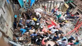 डोंगरी इमारत दुर्घटना: मृतांची संख्या 14वर पोहोचली; ढिगारा उपसण्याचे काम सुरूच!