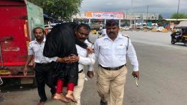 सलाम ! वाशी खाडीत उडी घेऊन पोलिसांनी वाचवला तरुणीचा जीव