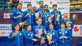 Commonwealth Table Tenis Championship : भारताने सर्व प्रकारात जिंकले सुवर्ण
