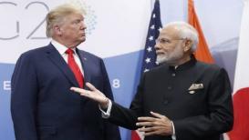 डोनाल्ड ट्रम्प यांचा काश्मीरसंदर्भातील 'तो' दावा भारतानं फेटाळला