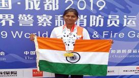महिला पोलिसाचा चीनमध्ये विक्रम, 'टार्गेट आर्चरी'मध्ये पटकावली तीन पदके