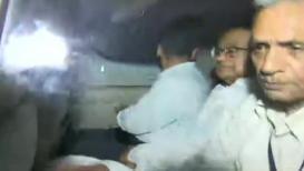 चिदंबरम यांना अटक केल्यानंतरचा पहिला VIDEO