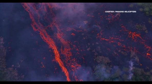 अमेरिकेतल्या हवाई बेटावर ज्वालामुखीचा भडका